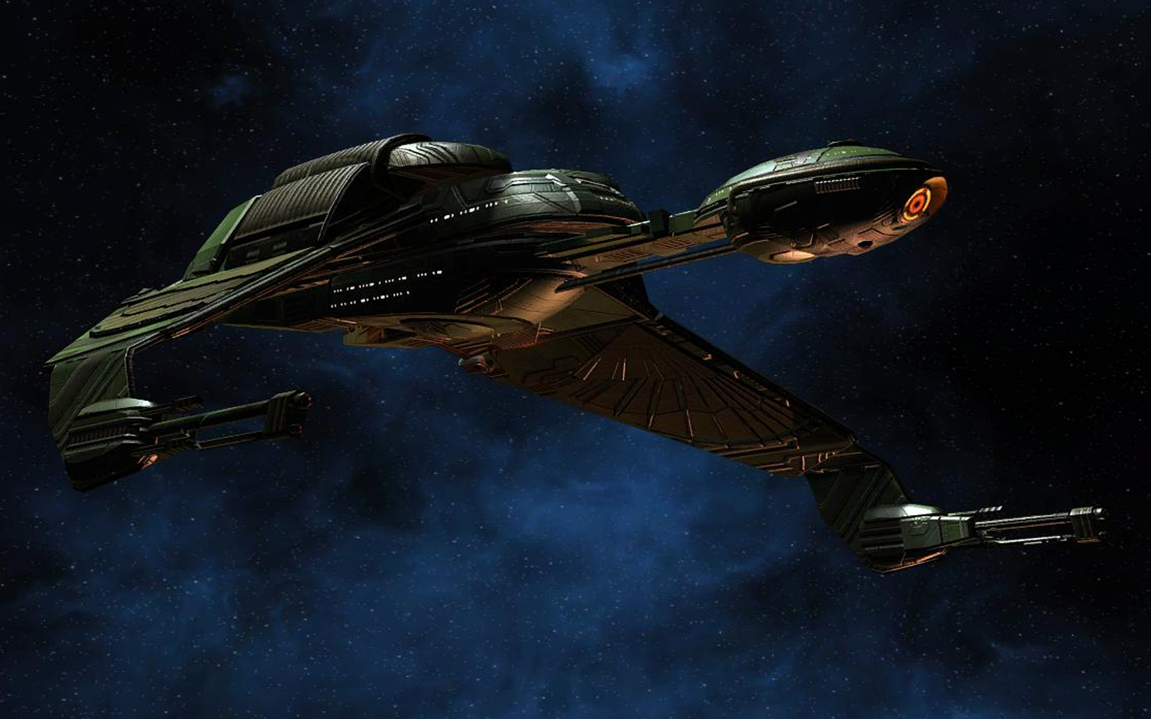 50 Klingon Bird Of Prey Wallpaper On Wallpapersafari