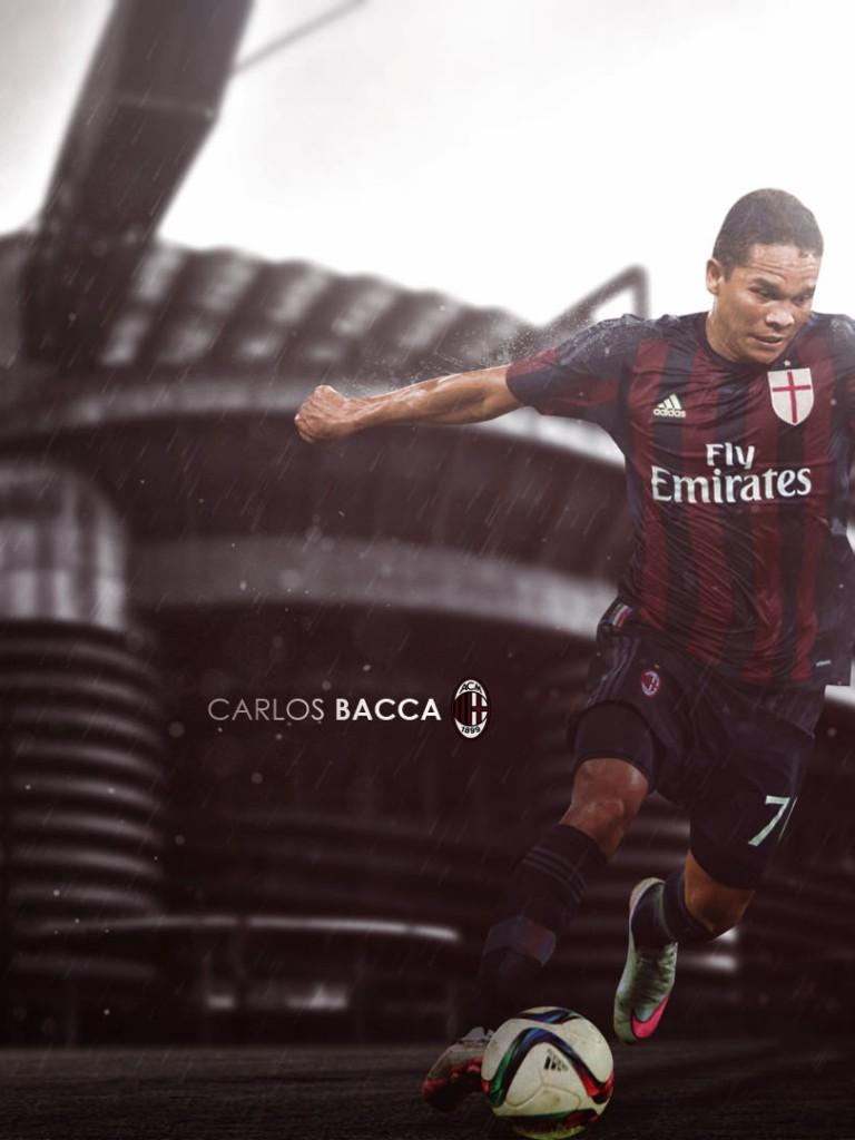 Carlos Bacca AC Milan 20152016 Wallpaper   Football Wallpapers HD 768x1024