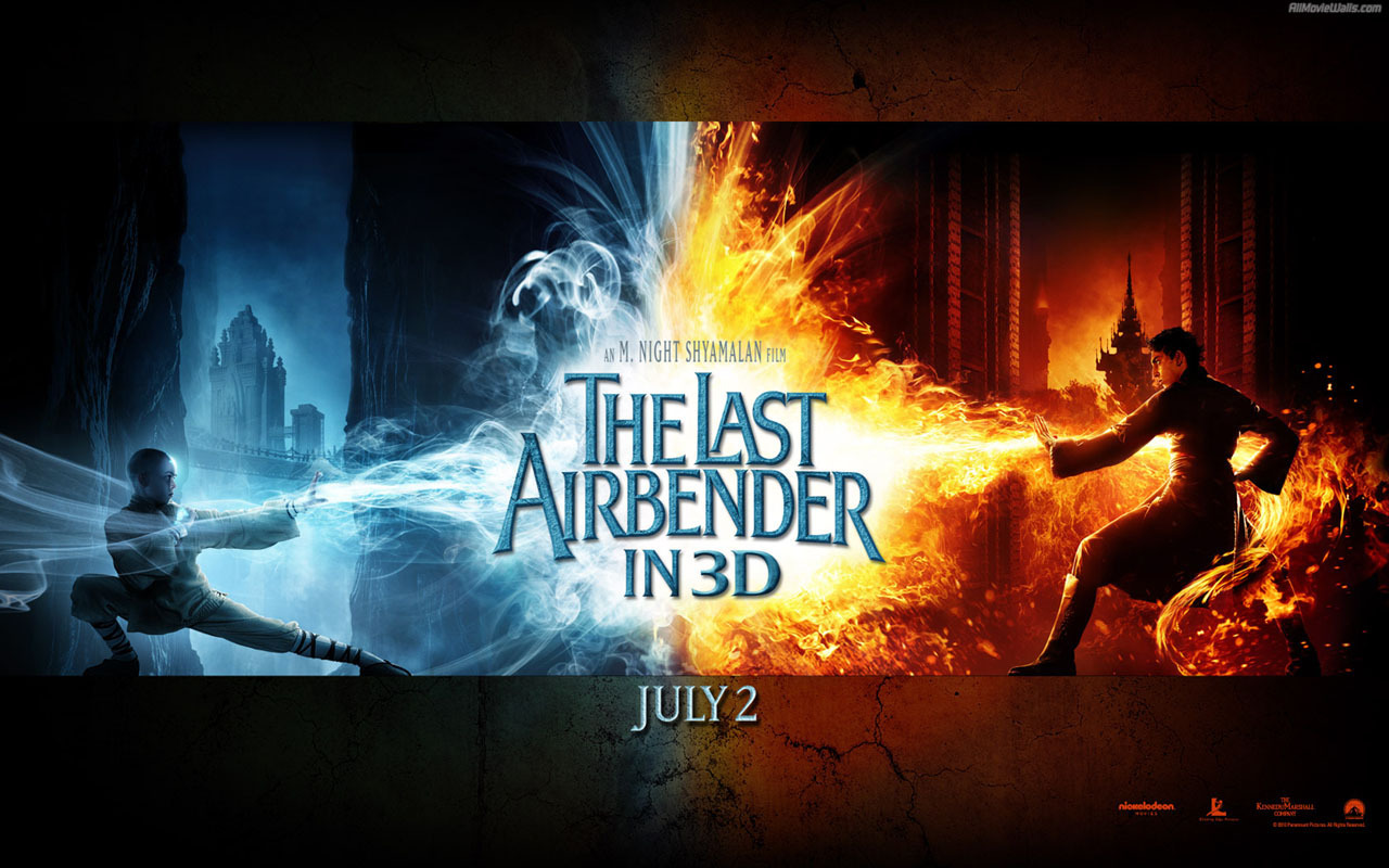 The Last Airbender   Movies Wallpaper 14609499 1280x800