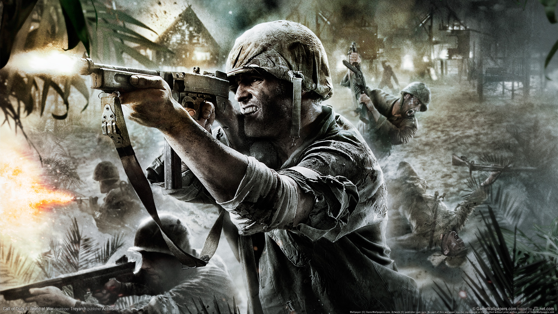 Call of Duty World at War Art 1920x1080