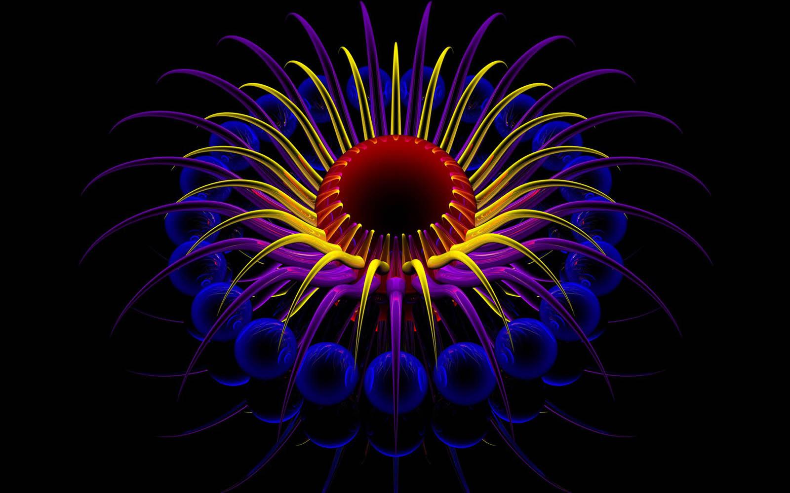 Neon 3D Wallpapers - WallpaperSafari