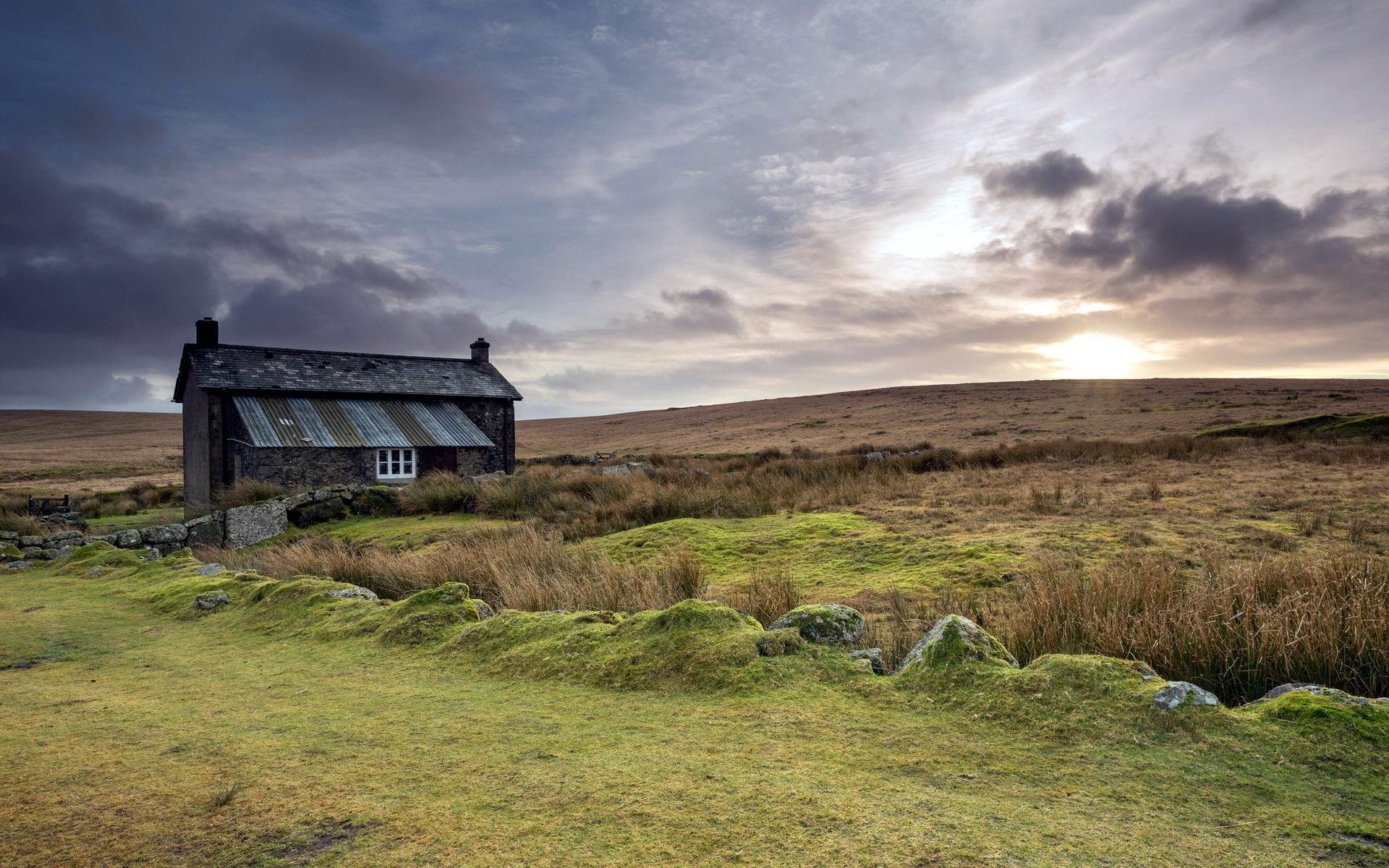 Beautiful Farmhouse   HD Background 1920x1200