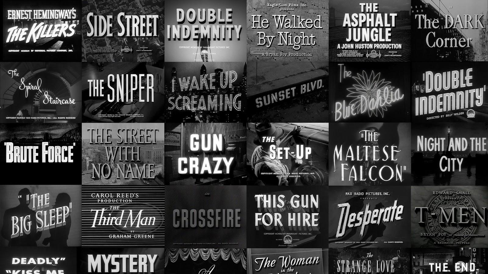 Film Noir Wallpaper 1600x900