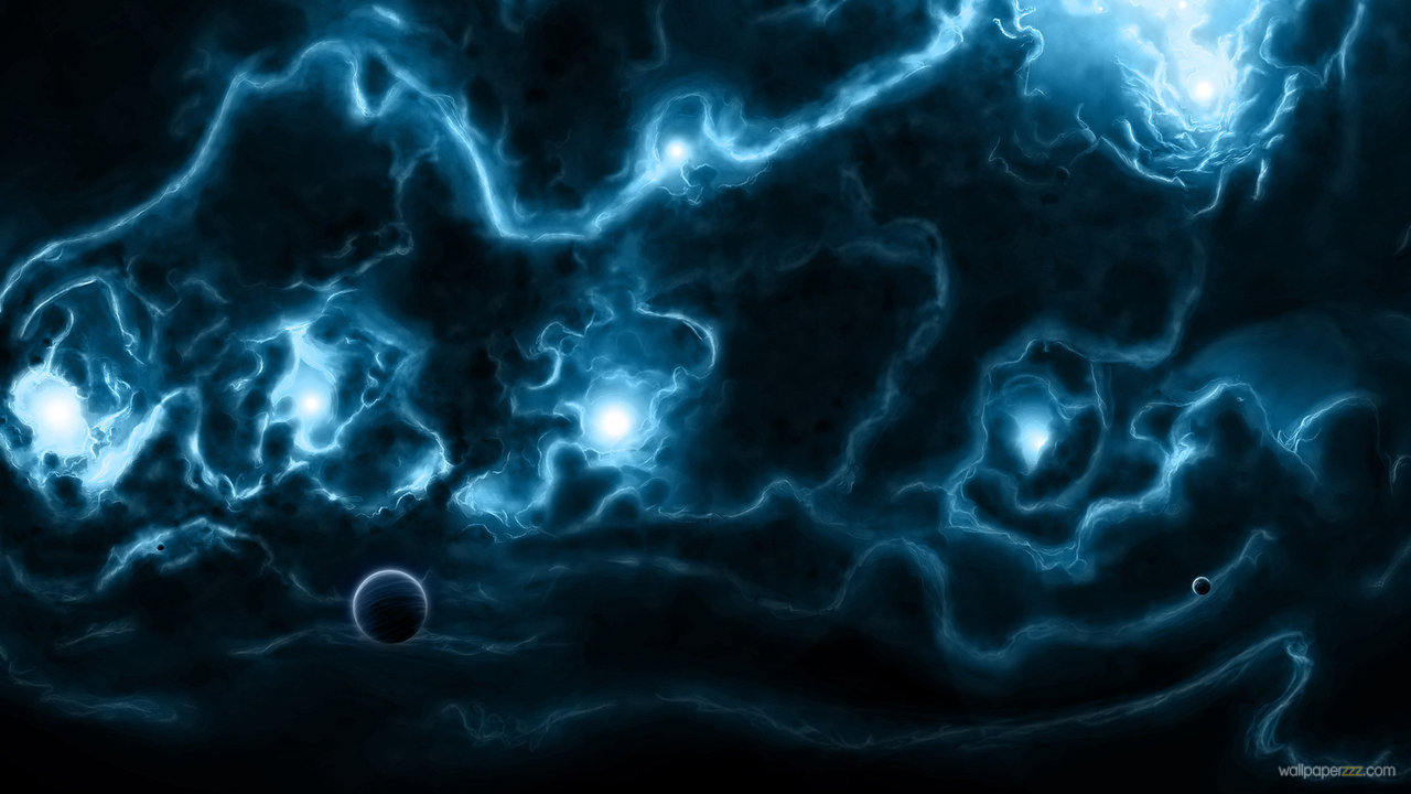 Download Strange Blue Space HD Wallpaper Wallpaper 1280x720