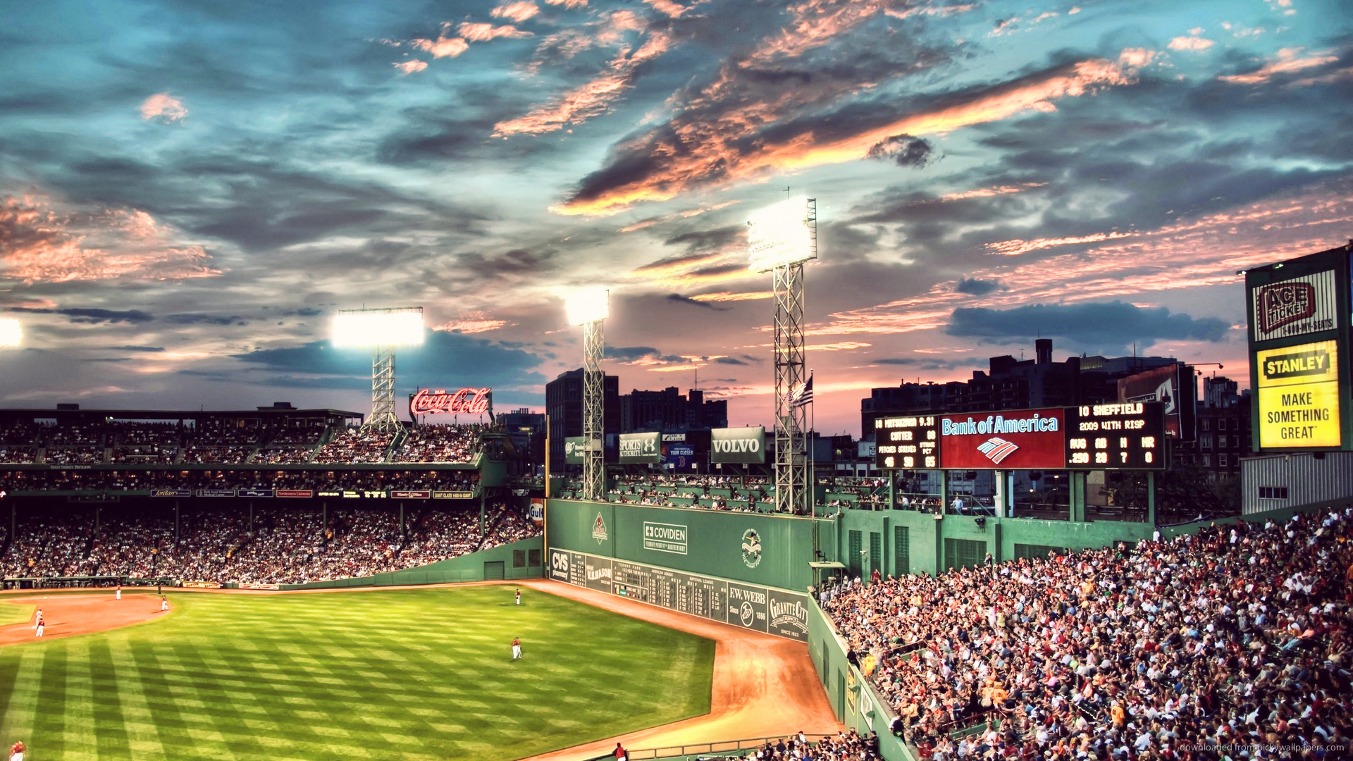 43 Fenway Park Wallpaper On Wallpapersafari