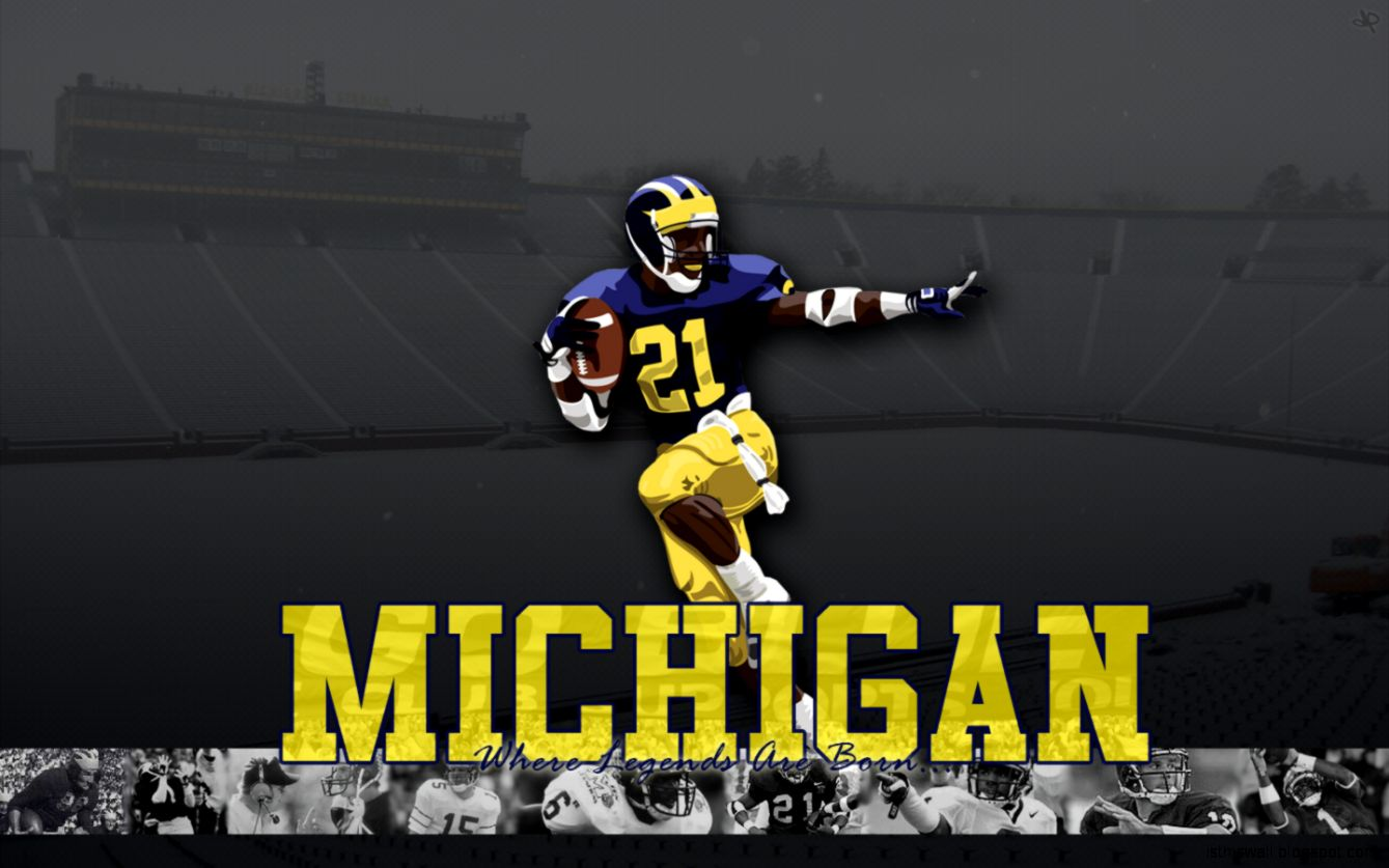 Michigan Football Wallpaper Hd This Wallpapers Wallpaper 1339x837