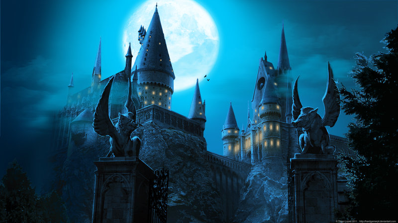 Free Download Hogwarts Castle Wallpaper By Hardgamerpt