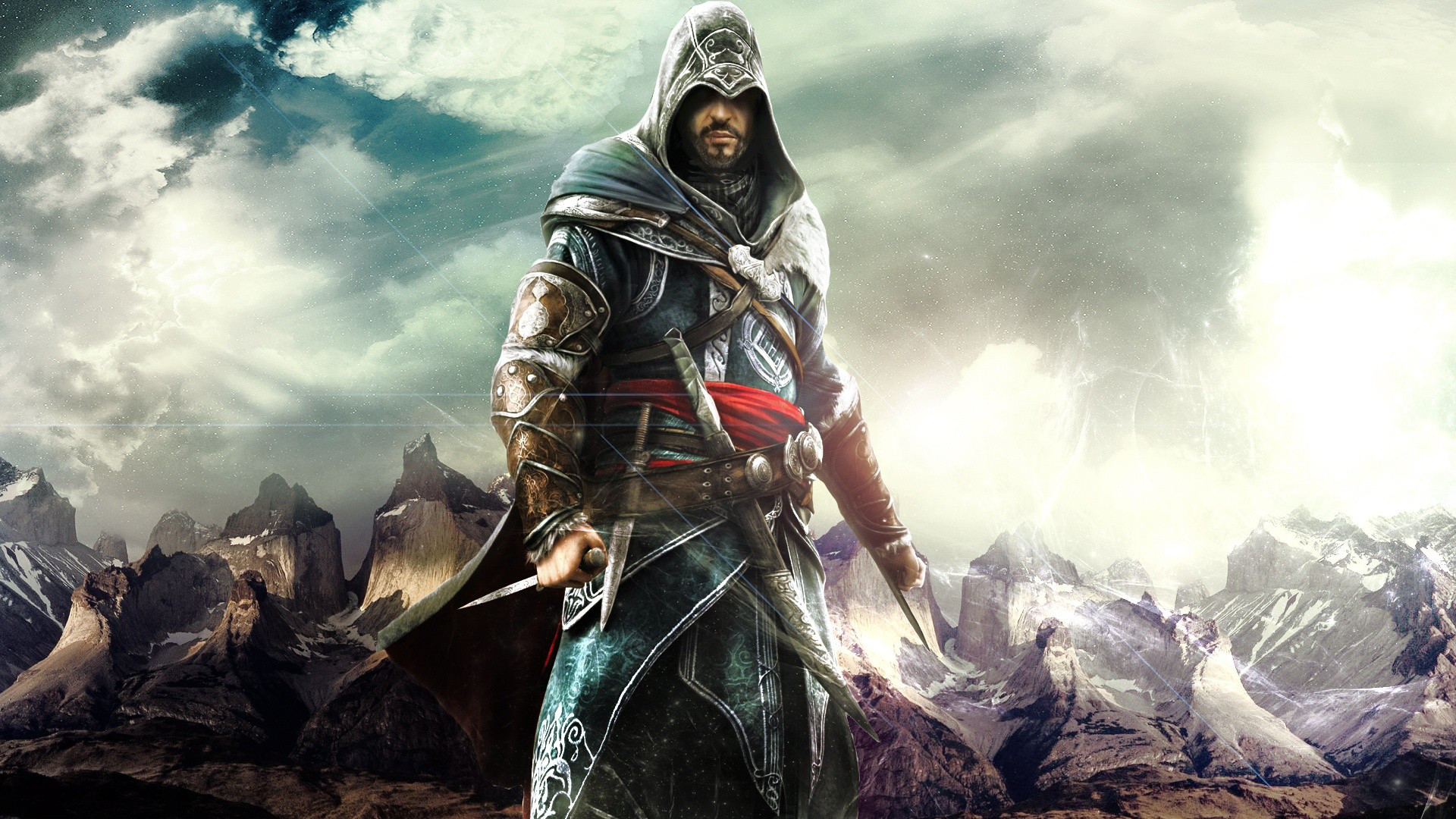 hd wallpaper Games Wallpapers For Mac Ezio The Best Assassin 1920x1080
