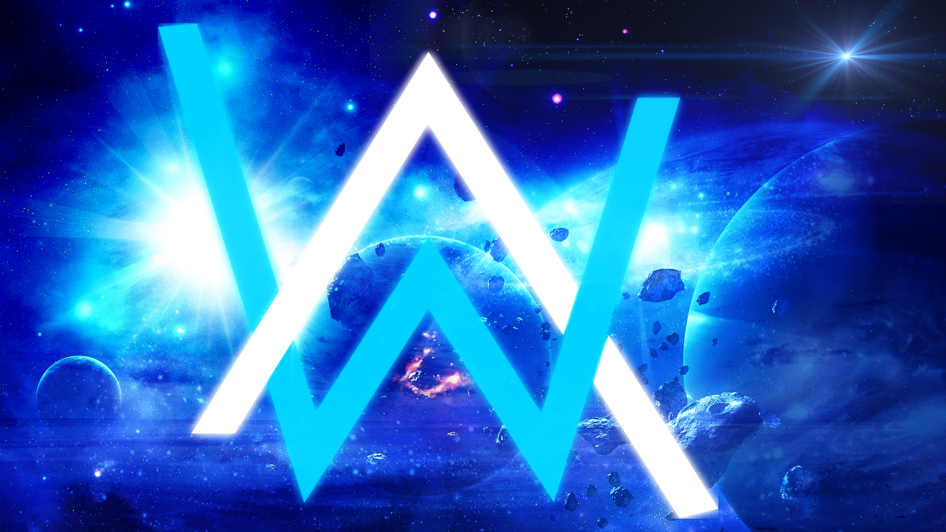Alan Walker Wallpaper by nestroix 1920x1080