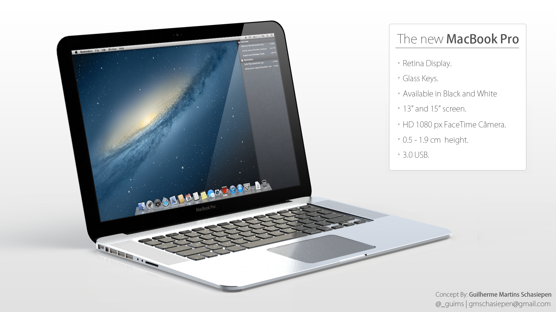 macbook, retina, display, wallpaper, design, conceptul