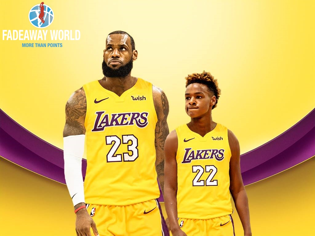 LeBron James Dream Can Come True In Los Angeles Fadeaway World 1024x768