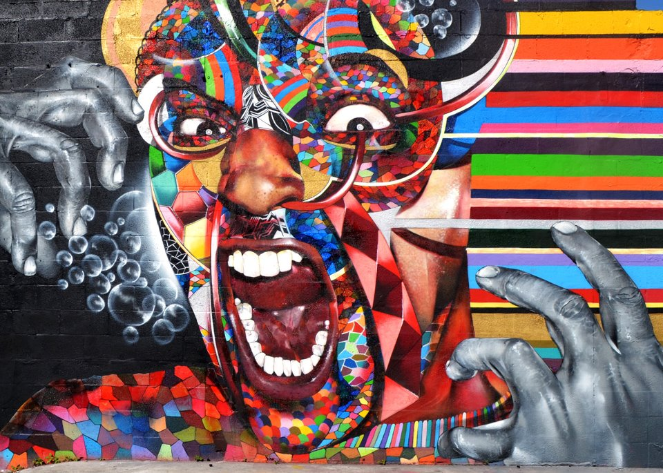 Dope Space Tumblr Backgrounds Art basel mural by chor boogie 960x685