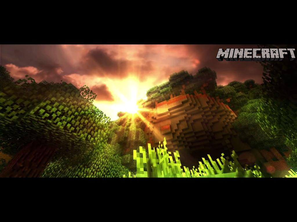 Epic Minecraft Backgrounds 1024x768