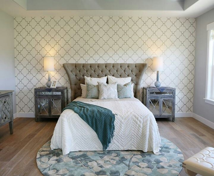 Tray ceiling and wallpaper Inspiration Client SE Pinterest 720x591