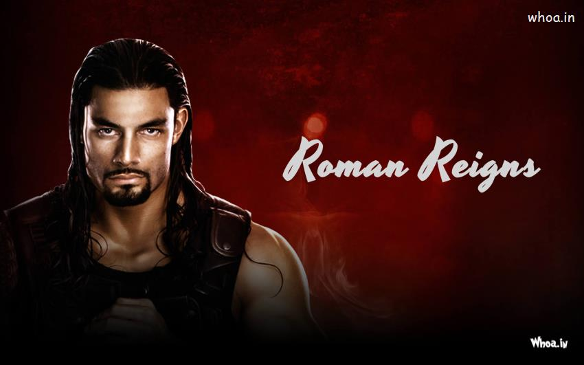 Wallpapers DownloadImages of Roman ReignsRoman Reigns Red Background 850x531