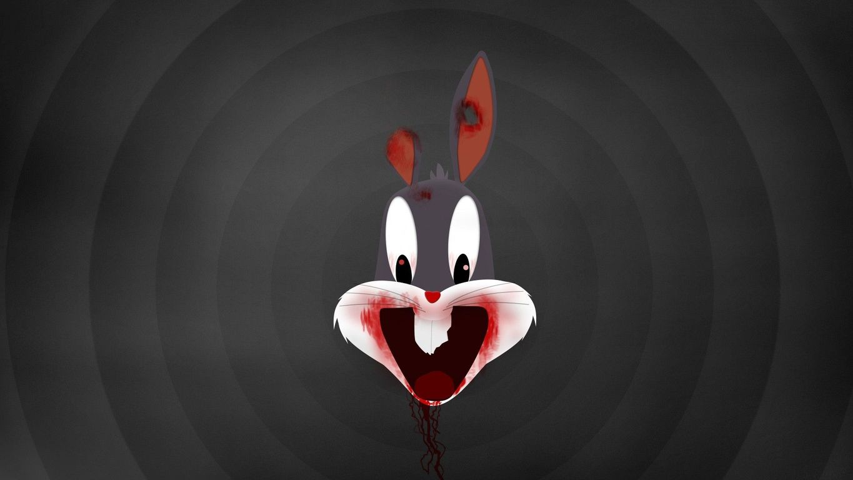 Zombie Bugs Bunny wallpaper 19580 1365x768