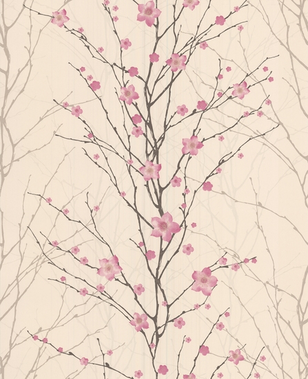 Vitality floral wallpaper from Graham and Browns Spirit collection 447x550