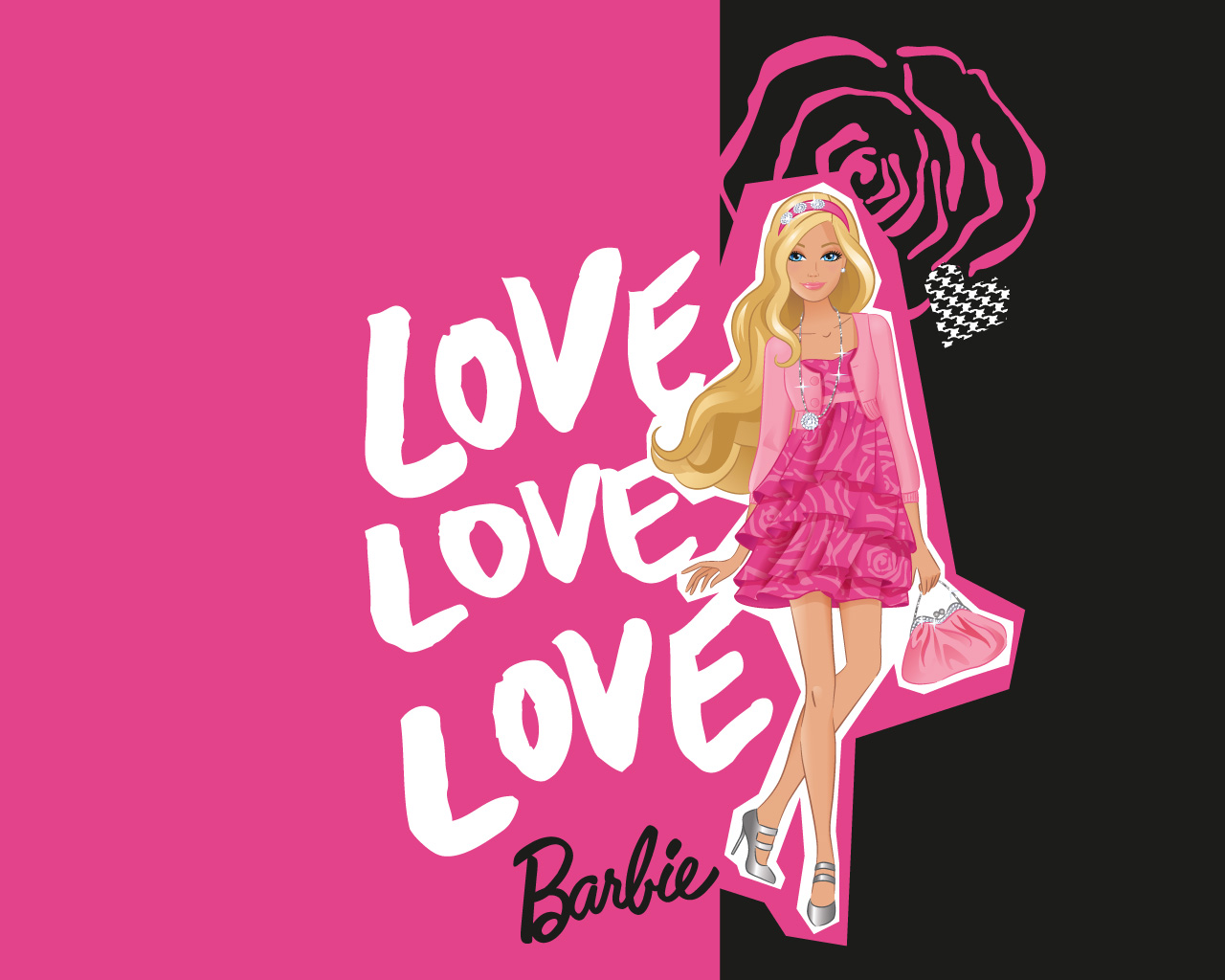 Barbie logo wallpaper wallpapersafari 1barbiemoviefan images barbie wallpaper photos 33731536 voltagebd Images