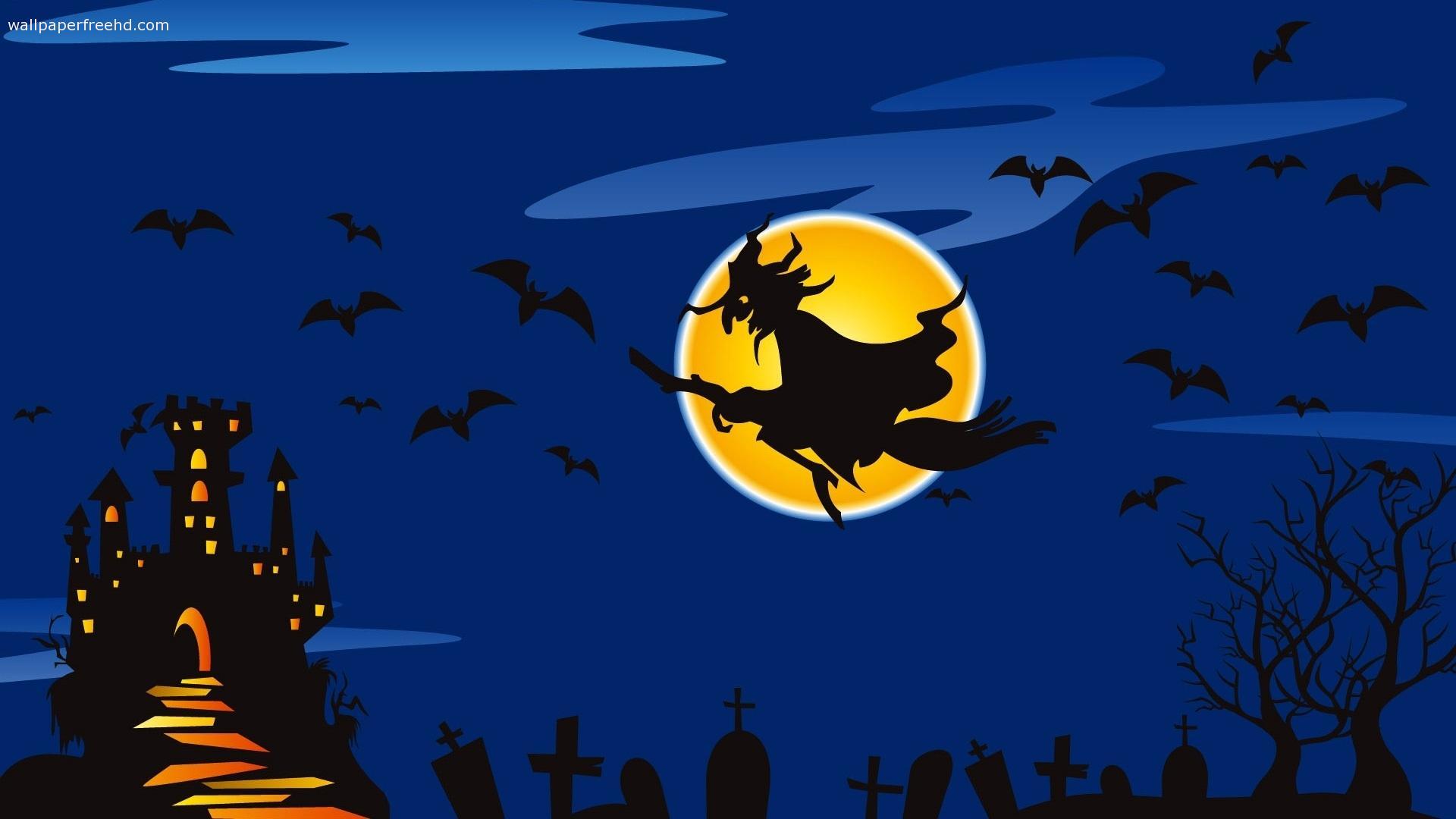 Halloween Witch wallpaper   1268403 1920x1080