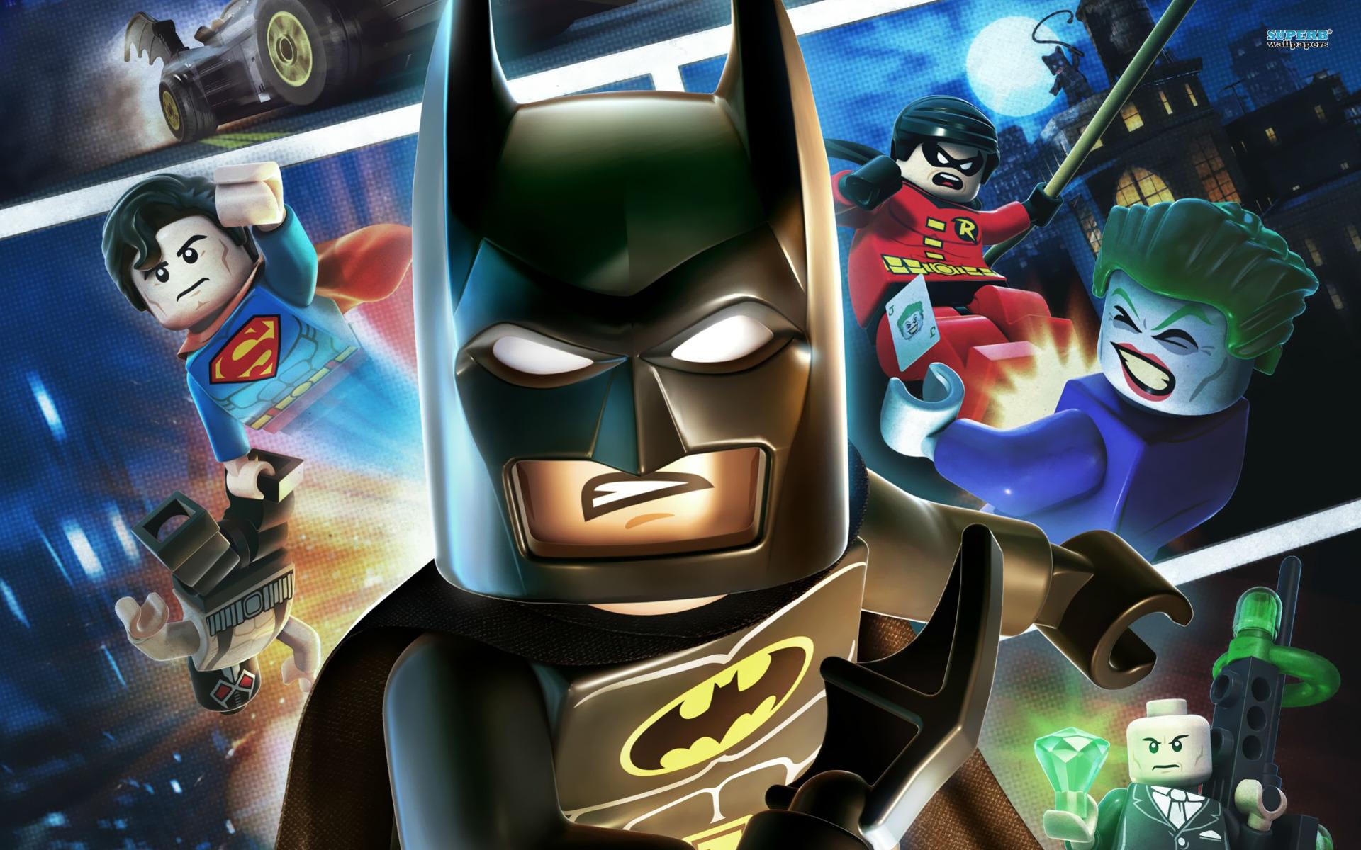 Super Heroes   HD Animation Wallpapers   Lego Batman Super Heroes 1920x1200