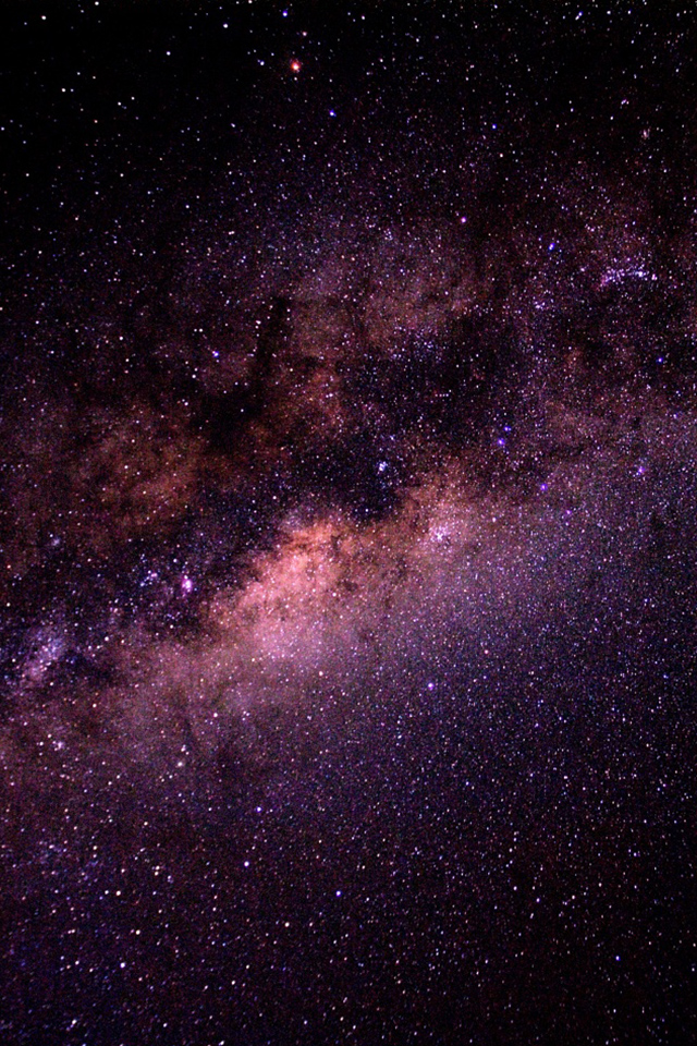 Milky Way Galaxy iPhone Wallpaper Simply beautiful iPhone wallpapers 640x960