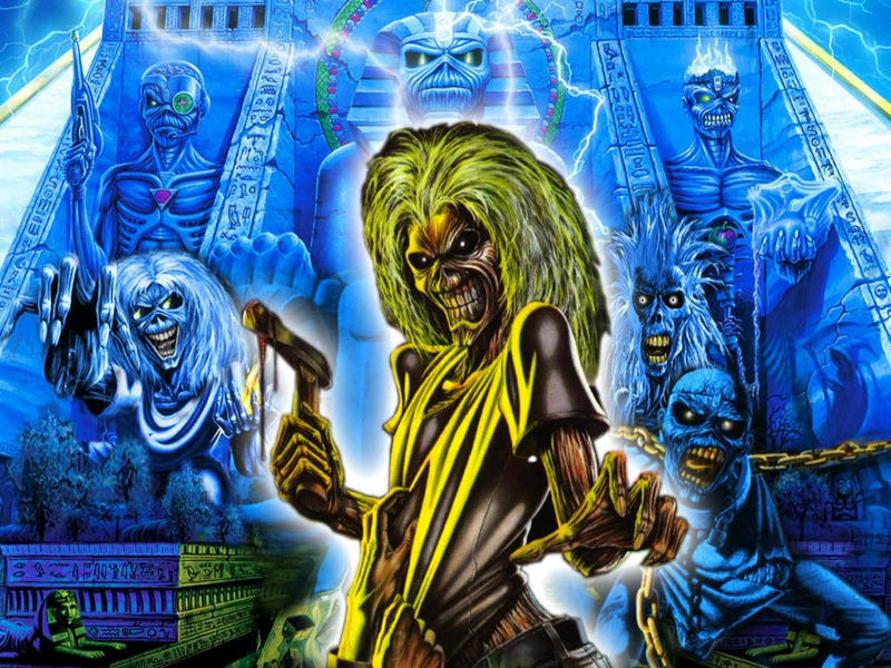 iron maiden eddie wallpaper hd wallpapersafari