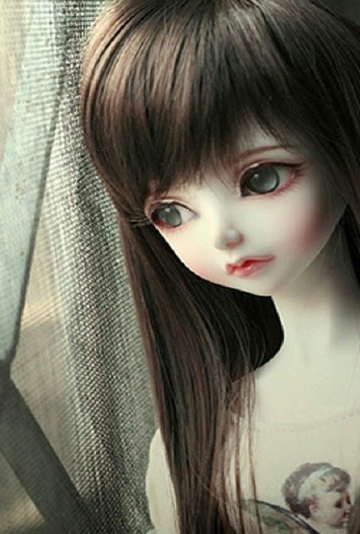 Unique HD Wallpapers 4U Cute Barbie Doll Sad HD Wallpaper 518x768