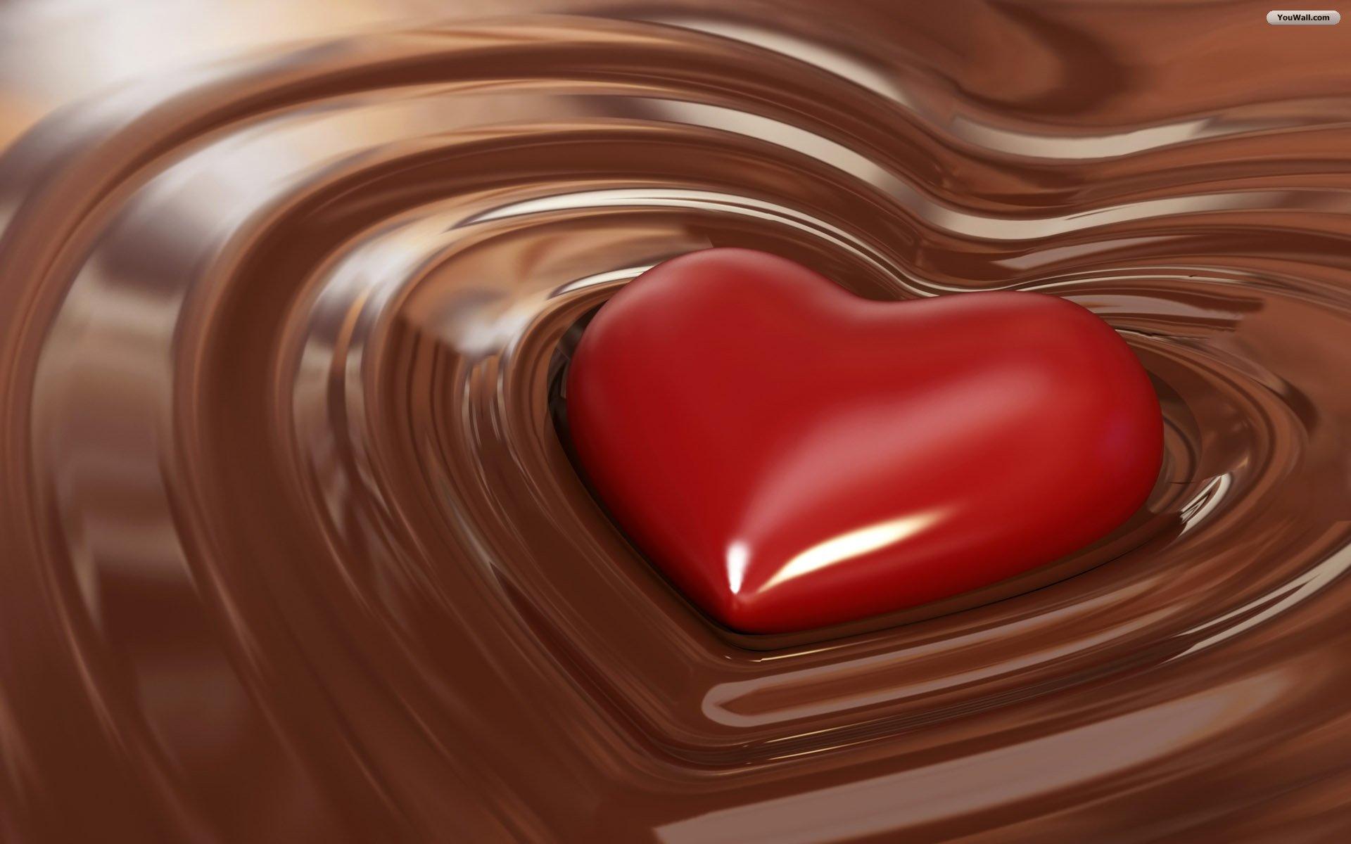 Chocolate With Love Wallpaper   wallpaperwallpapersfree wallpaper 1920x1200