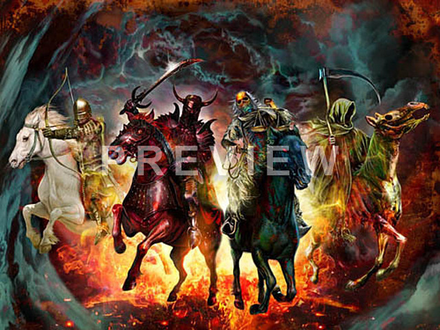 Four Horsemen   1366 768 Wallpaper 640x480