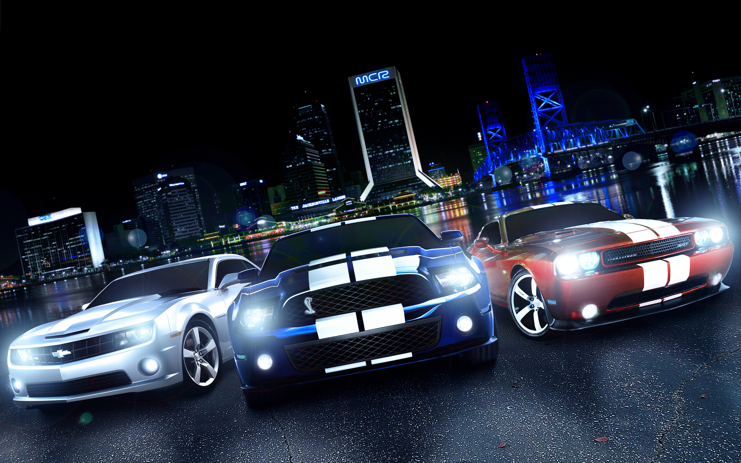 Cool Muscle Car Wallpapers Full Hd: Cool Muscle Cars Wallpaper