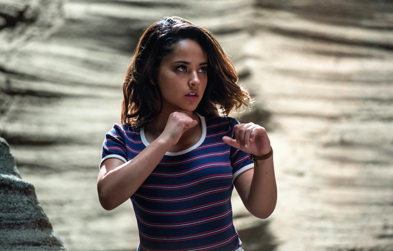 Wallpaper Power Rangers Kimberly Power Rangers Naomi Scott 1332x850