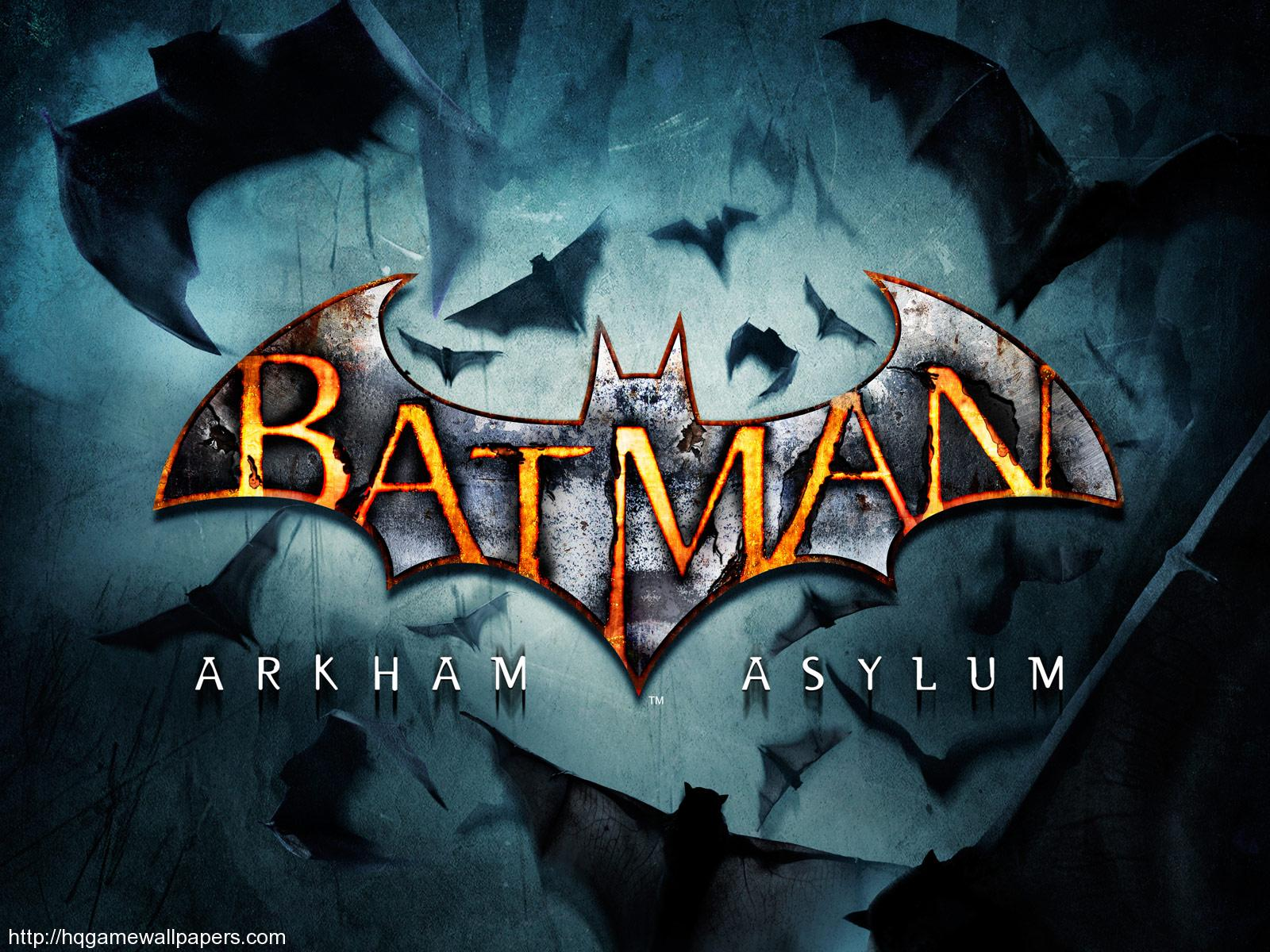 Batman Arkham Asylum widescreen wallpaper 1600x1200