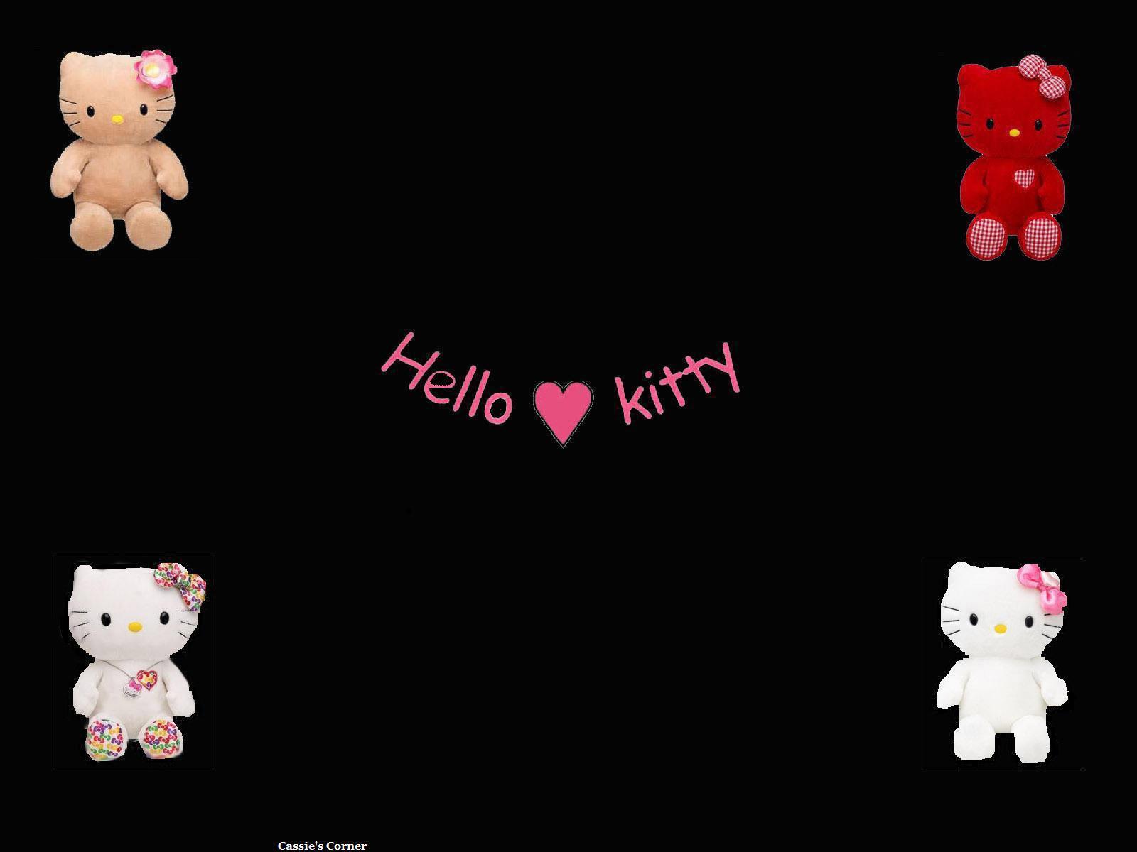 76 Hello Kitty Black And Pink Wallpaper On Wallpapersafari