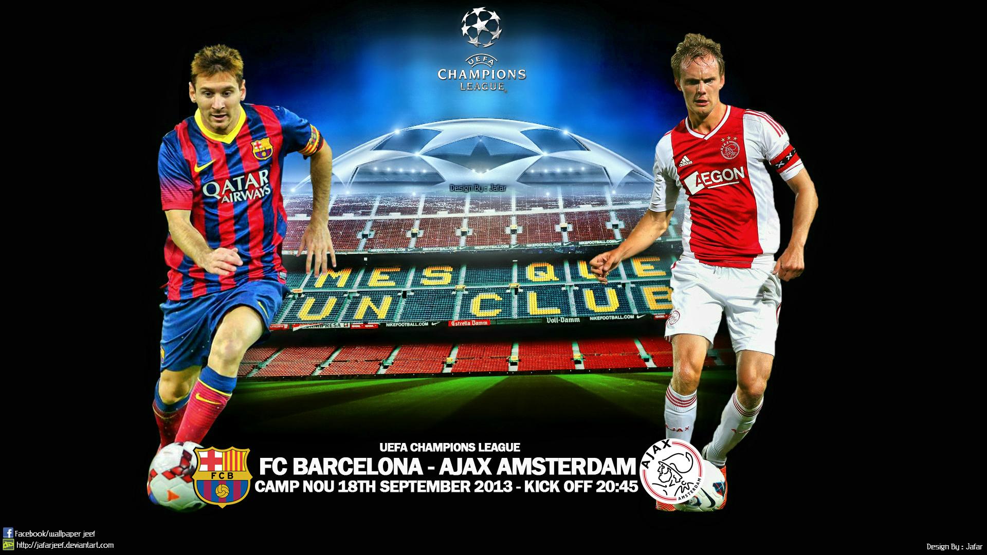 FC Barcelona Champions League Wallpaper WallpaperSafari