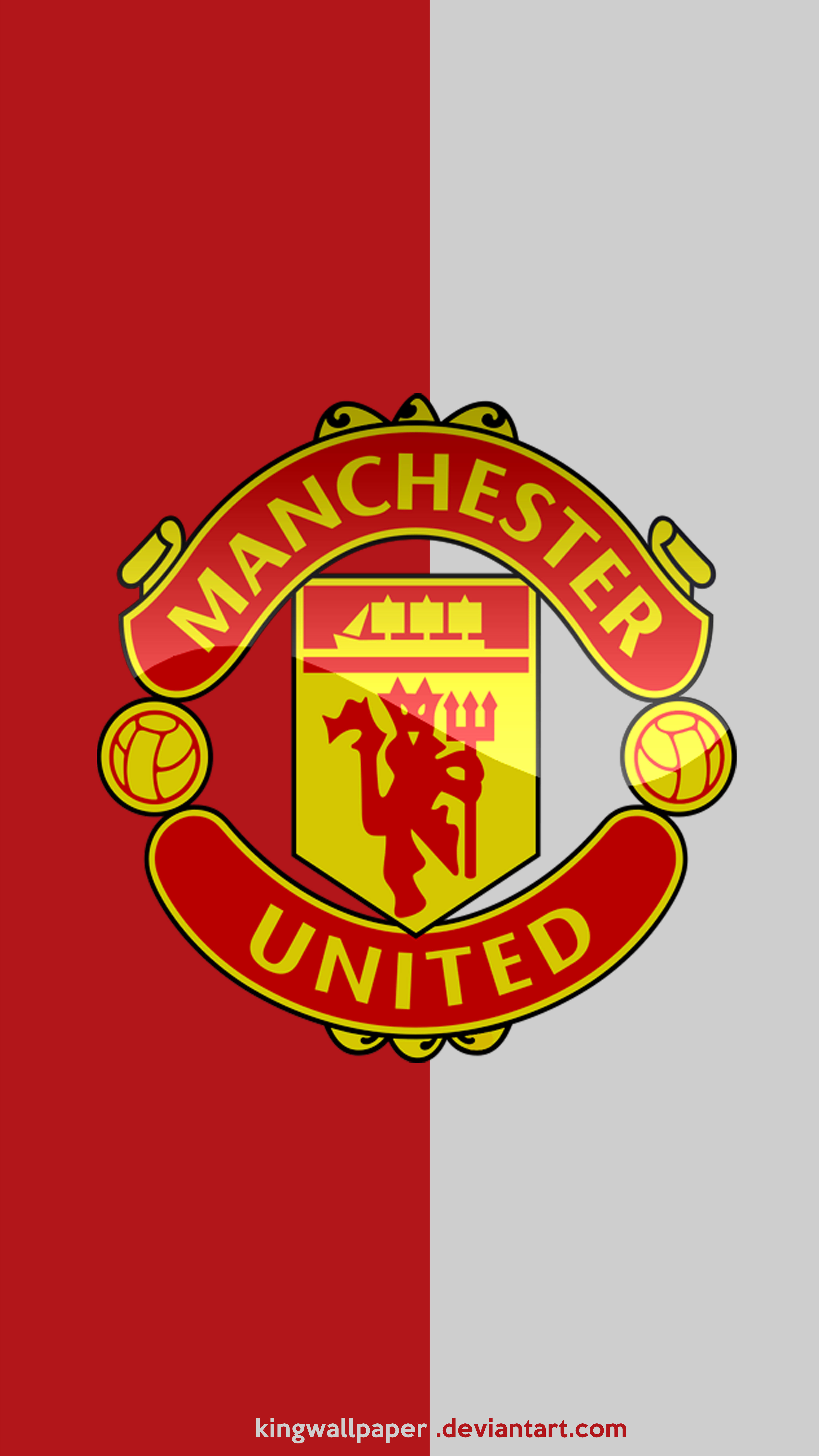 Manchester United moblie background by Kingwallpaper on 4500x8000