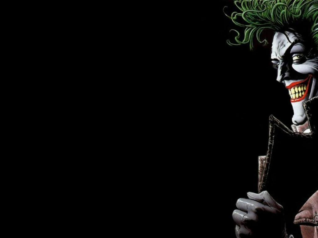 Joker Comic Wallpaper HD 1024x768