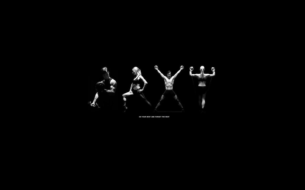 Fitness motivation wallpaper 16362 1280x800
