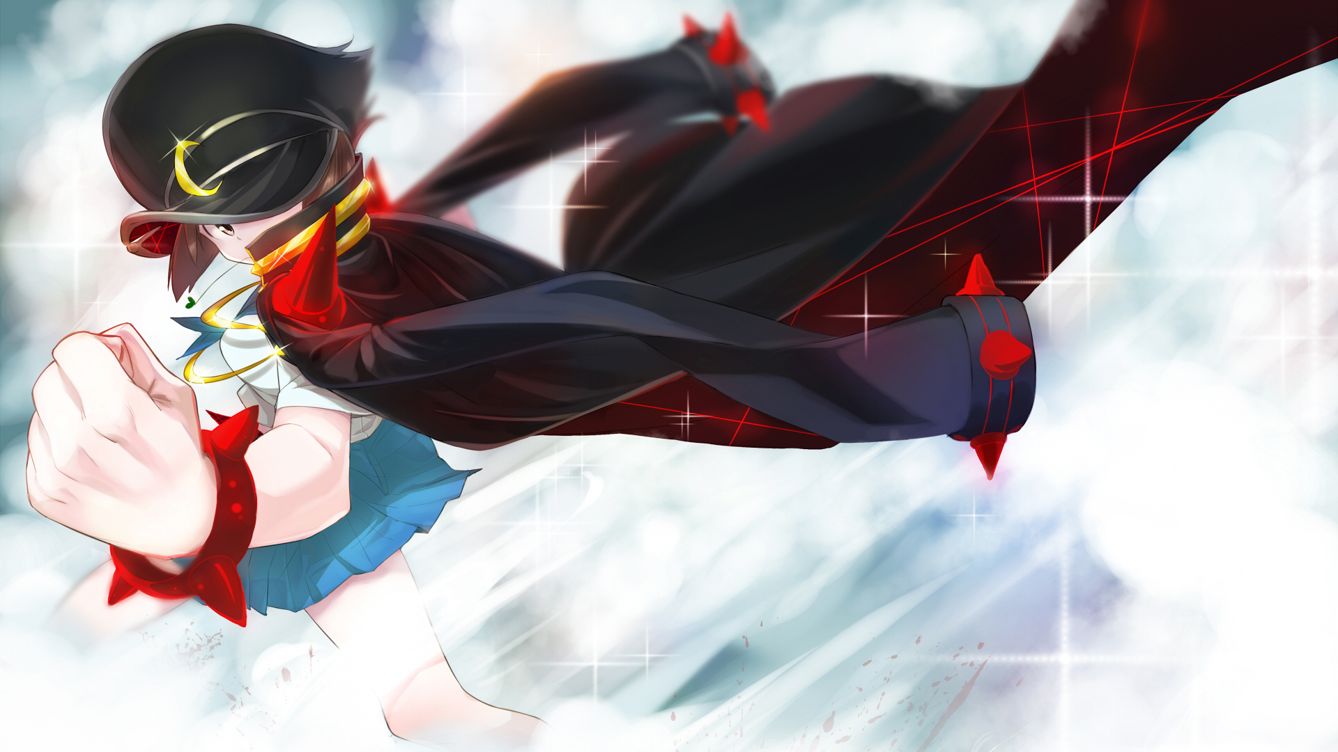 Free Download Mankanshoku Mako Girl Kill La Kill Hd Wallpaper