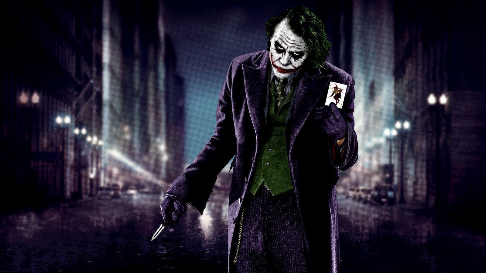The Dark Knight Joker Wallpapers 1600x900