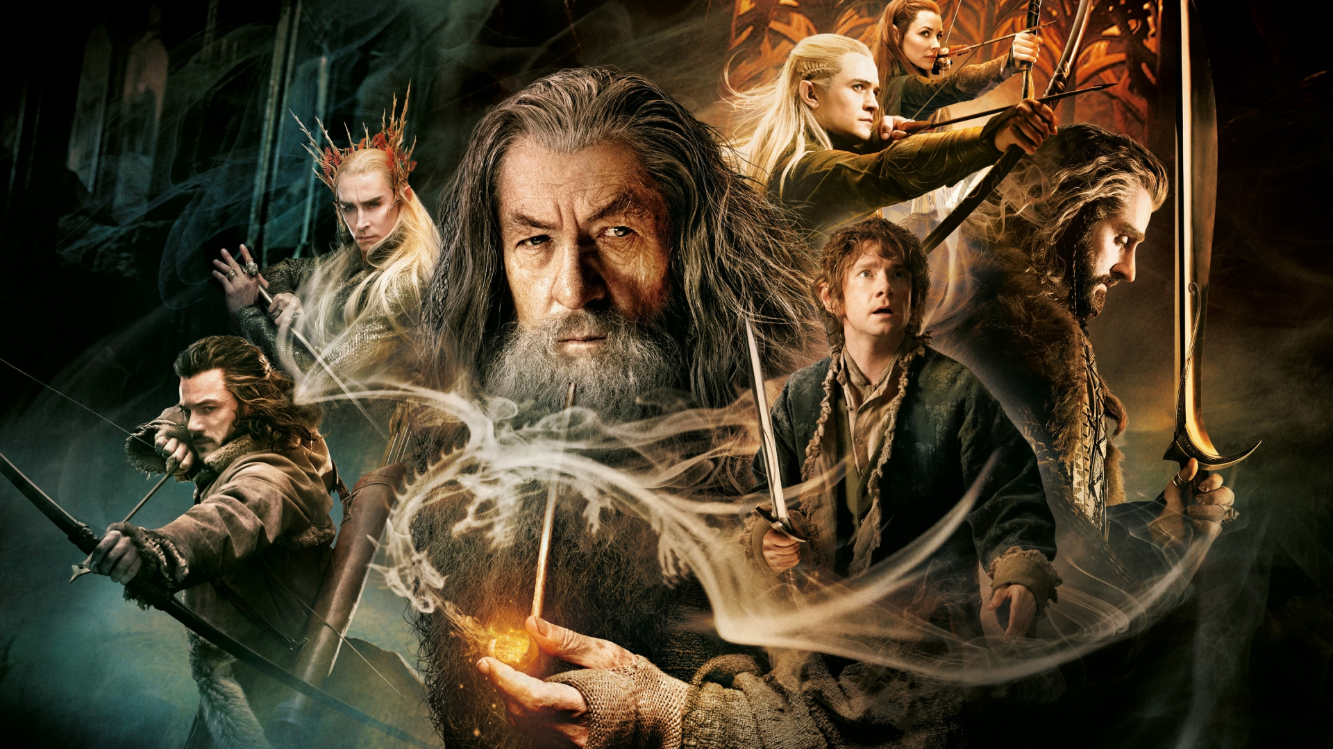 Wallpaper the hobbit the desolation of smaug 1920x1080 HD Wallpaper 1920x1080