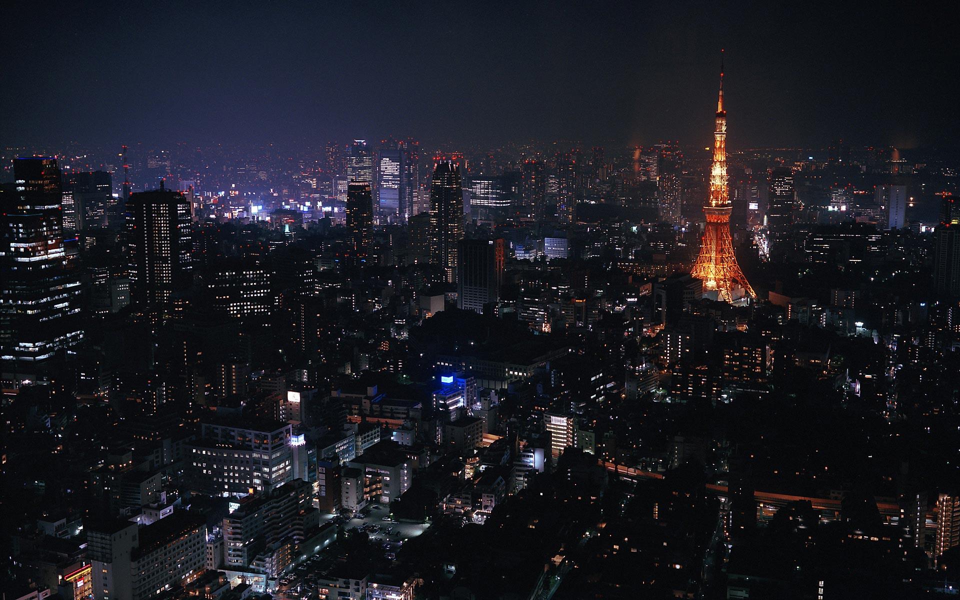 1920x1200 Tokyo at night desktop PC and Mac wallpaper 1920x1200