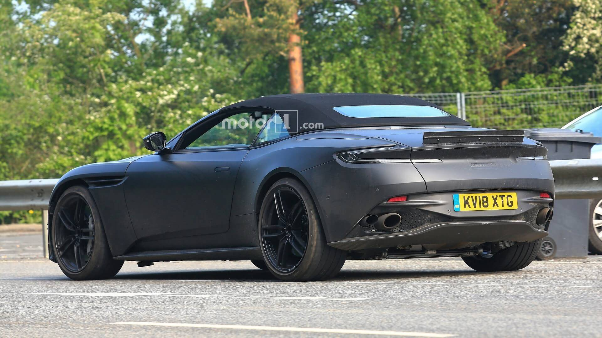 Aston Martin DBS Superleggera Volante spied testing 1920x1080