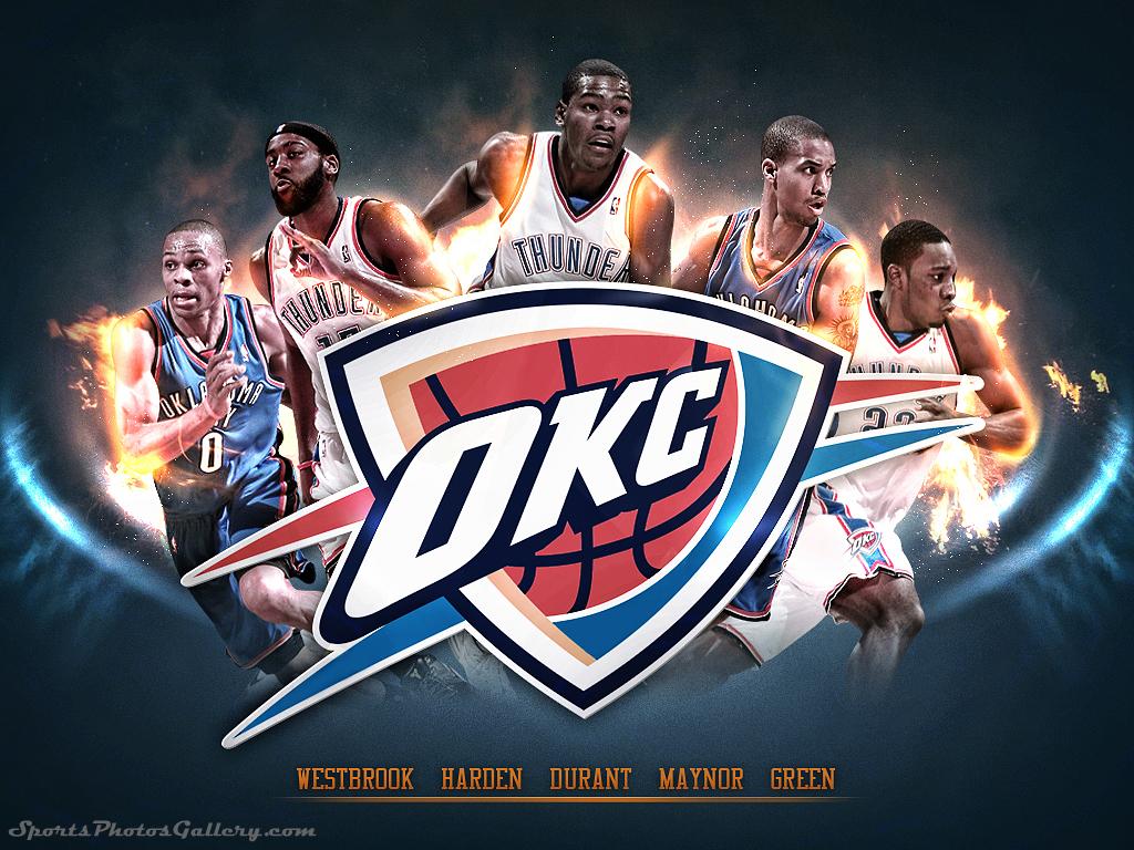 Free Download Oklahoma City Thunder Hd Wallpaper 1024x768