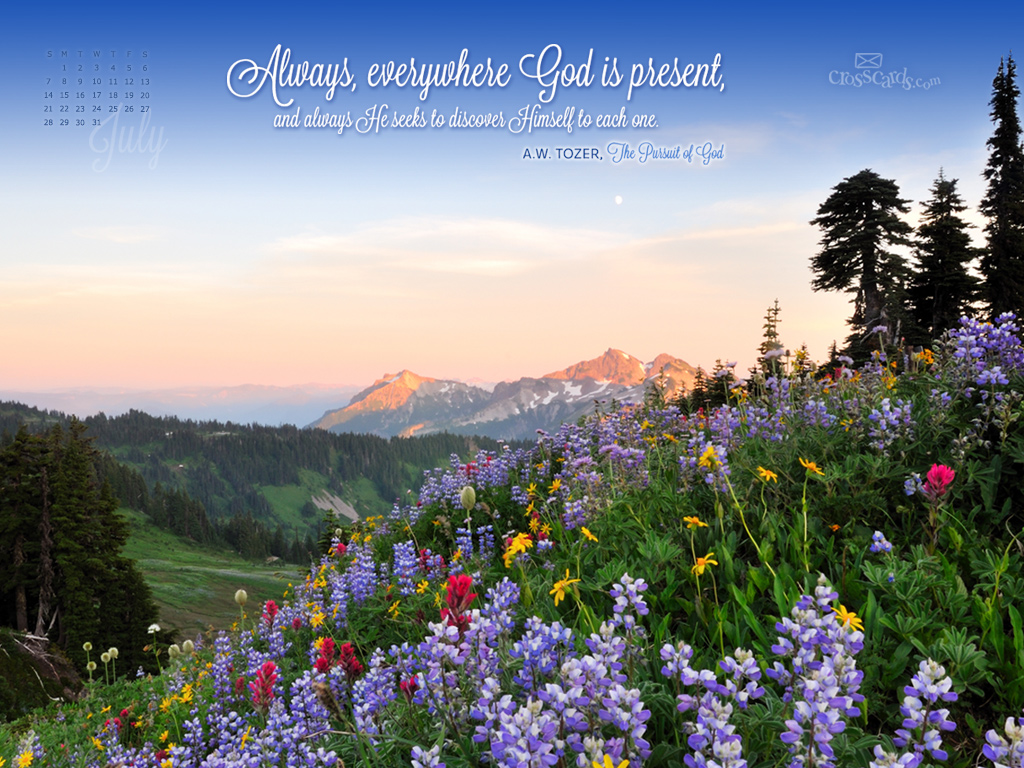 CrossCards Wallpaper Monthly Calendars July 2015 1024x768
