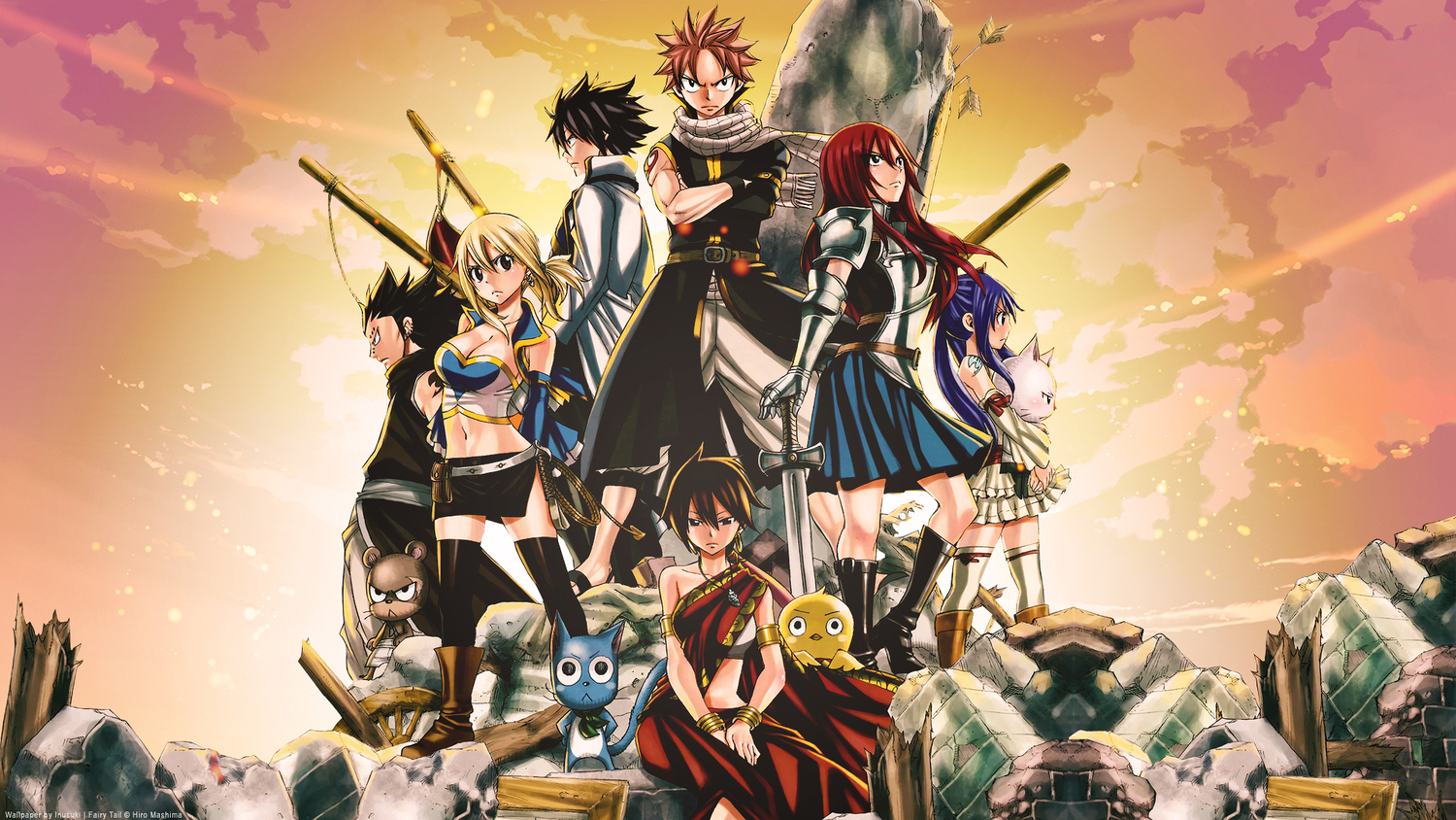 Download Fairy Tail Wallpapers HD Full Size 1500x844