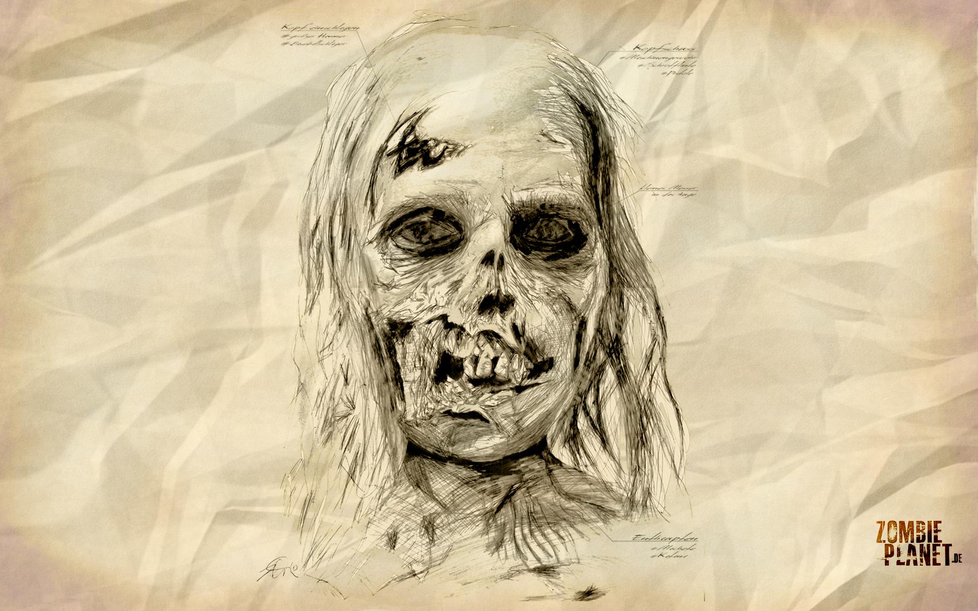 HD Zombie Wallpaper von Zombie Planetde 1920x1200