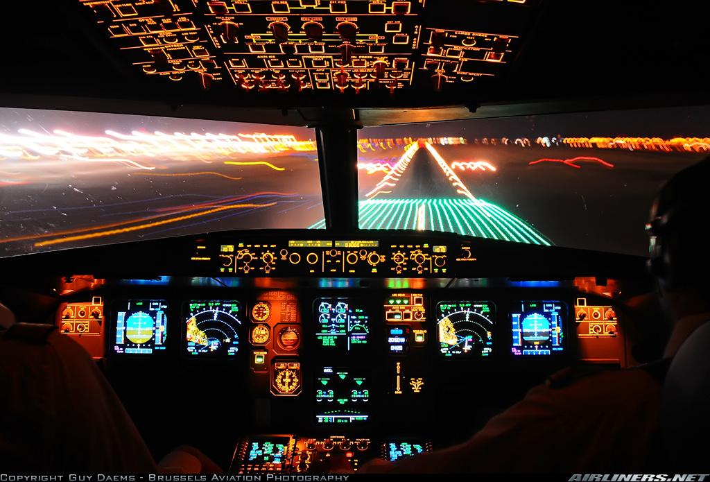 46 Airplane Cockpit Wallpaper Hd On Wallpapersafari