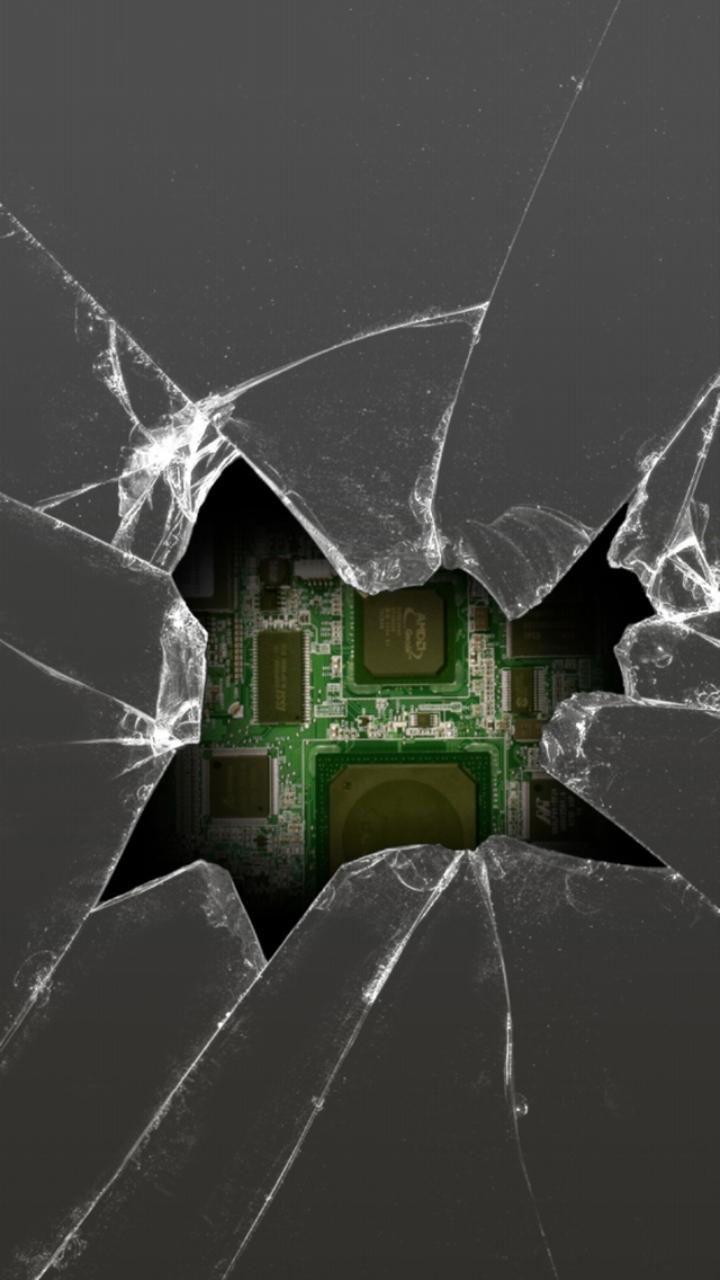 Cracked Ipad Screen Wallpaper: Cracked Phone Screen Wallpaper