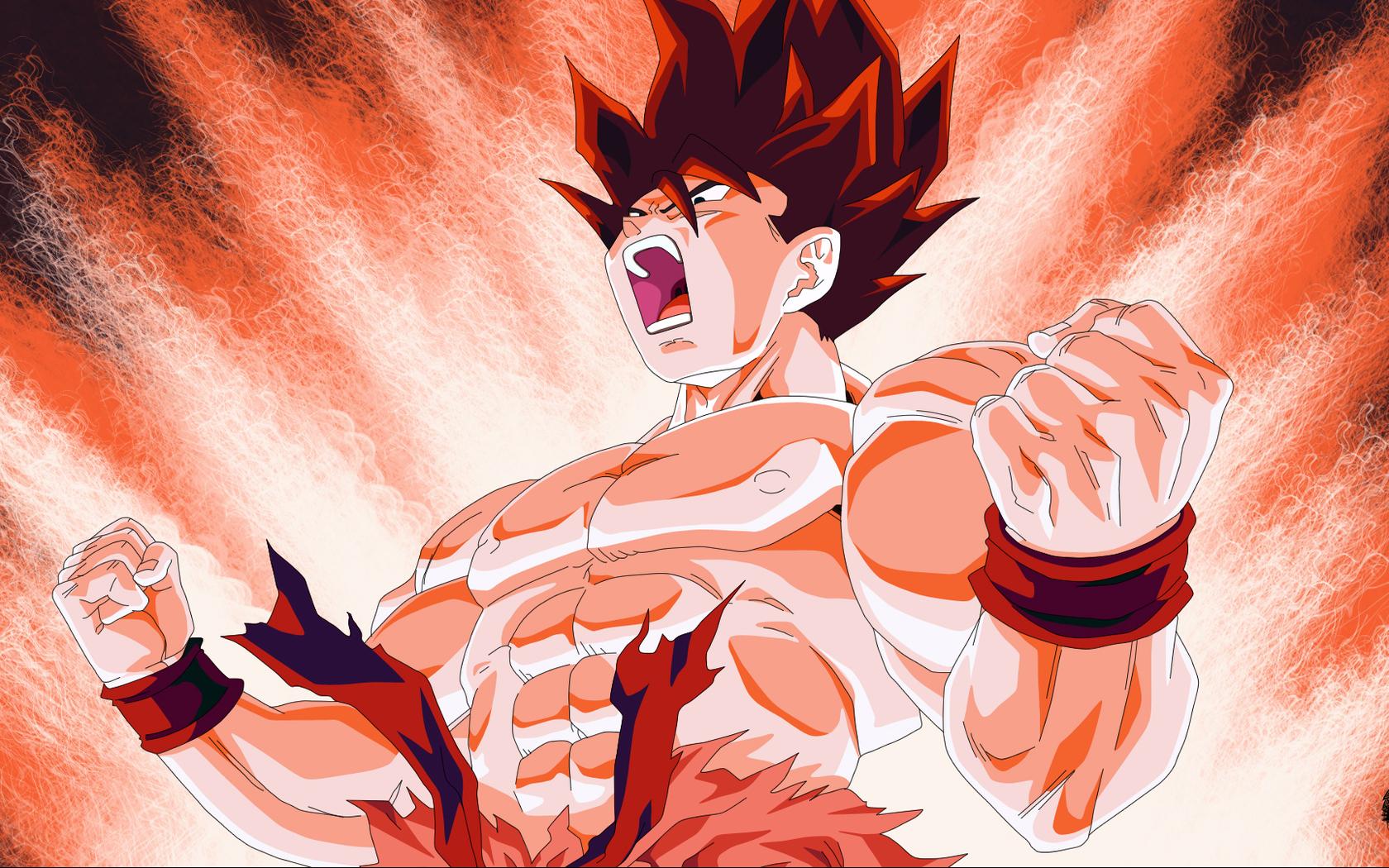 Pics Photos   Son Goku Wallpaper 1680x1050