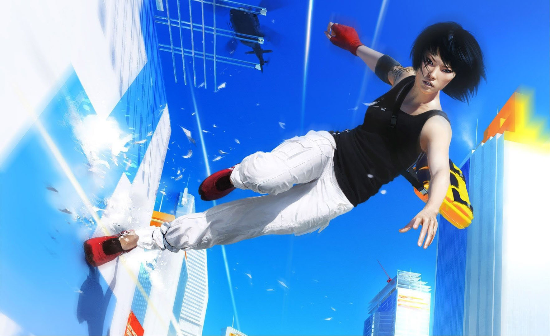 Parkour Running   Action Games Wallpaper Image featuring Mirrors 1767x1080